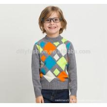 Cashmere argyle knitting patterns children sweater 2016