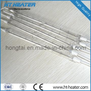 Lâmpada de aquecimento infravermelho de quartzo halógeno