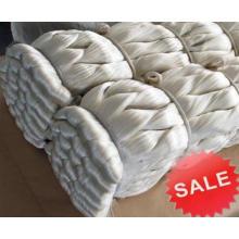 Fil de soie cru chinois de mûrier pour le tissage