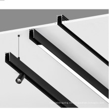 sistema de iluminación de riel magnético led de 48v montado en superficie