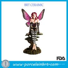 Beauty Fairy Resin Figurine Ornament