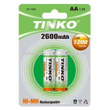 Rechargeable battery(NI-MH Size AA 2600MAH )