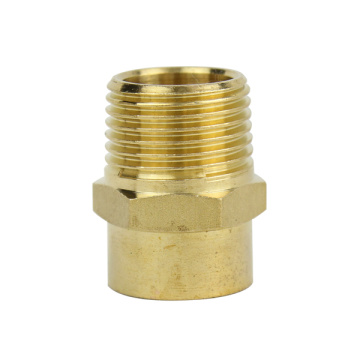 Messing Gerader Stecker Male-Cu