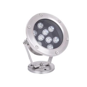 Focos subacuáticos LED impermeables de acero inoxidable de 9W