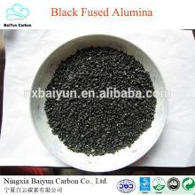 Fabricante de vendas de alta pureza Óxido de alumínio fundido preto / Alumínio fundido preto