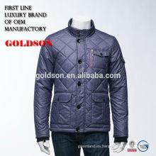 Men's Shining Goose Down Jacket Fabricación Zhejiang Marca Ropa