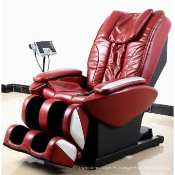 Intelligent Deluxe Massage Chair, Massage Sofa, Silla de masaje eléctrica de cuero