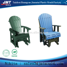 injection plastic out door glider chair mold