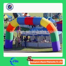 2015 Arco inflable de la nueva promoción del diseño, arco inflable del arco iris, puerta del arco