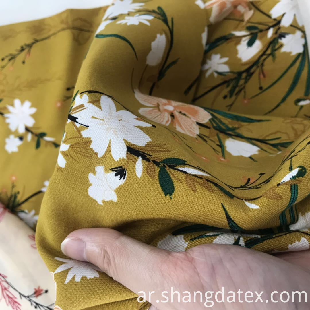 soft and cool rayon fabric
