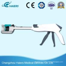 Novo grampeador curvo descartável para cirurgia colorretal