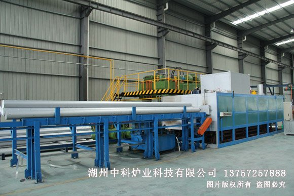 Long rod hot shear furnace