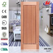 JHK-001 Beautiful Russia Sapeli Decorative Smooth Veneer FSC Best Door Panel