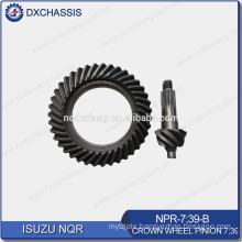 Genuine NQR 700P Crown Wheel Pinion Gear 7:39 NPR-7:39-B