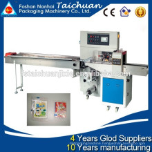 Card packing machine / Fresh fruit packing machine / Down-paper pillow packing machine