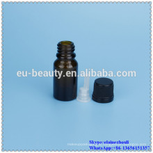5ml and 10ml brown glass dropper bottle