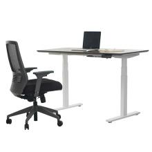 Escritorio de pie ajustable en altura de muebles de oficina