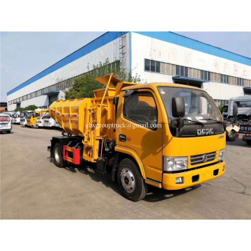 Municipal environment sanitation sewer mud silt digging truck
