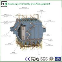 Weitraum der lateralen elektrostatischen Collector-Induction Furnace Treatment