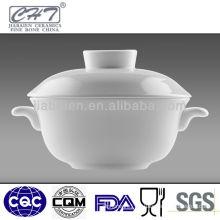 Fine bone china porcelain soup tureen