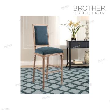 American Style Nordic Mode Luxus Stoff Barhocker