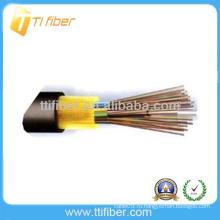 Неметаллическая прочность Небронированный наружный волоконно-оптический кабель GYFTA53