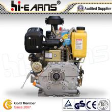 С воздушным охлаждением дизельный двигатель с шпоночным пазом вала (HR192FB)