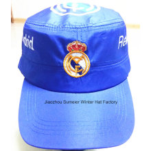 Cheap High Quality Flat Peak Embroidered Sports Promotional Caps