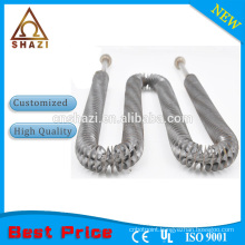 finned heater tubular electric heating element