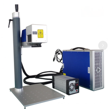 20w portable color fiber laser marking machine for metal plastic laser engraver