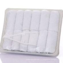 Desconto super barato 100% algodão descartável aviação toalha Desconto super barato 100% algodão descartável aviação toalha