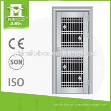 Puertas phiplo puerta de acero inoxidable puerta de seguridad de hierro