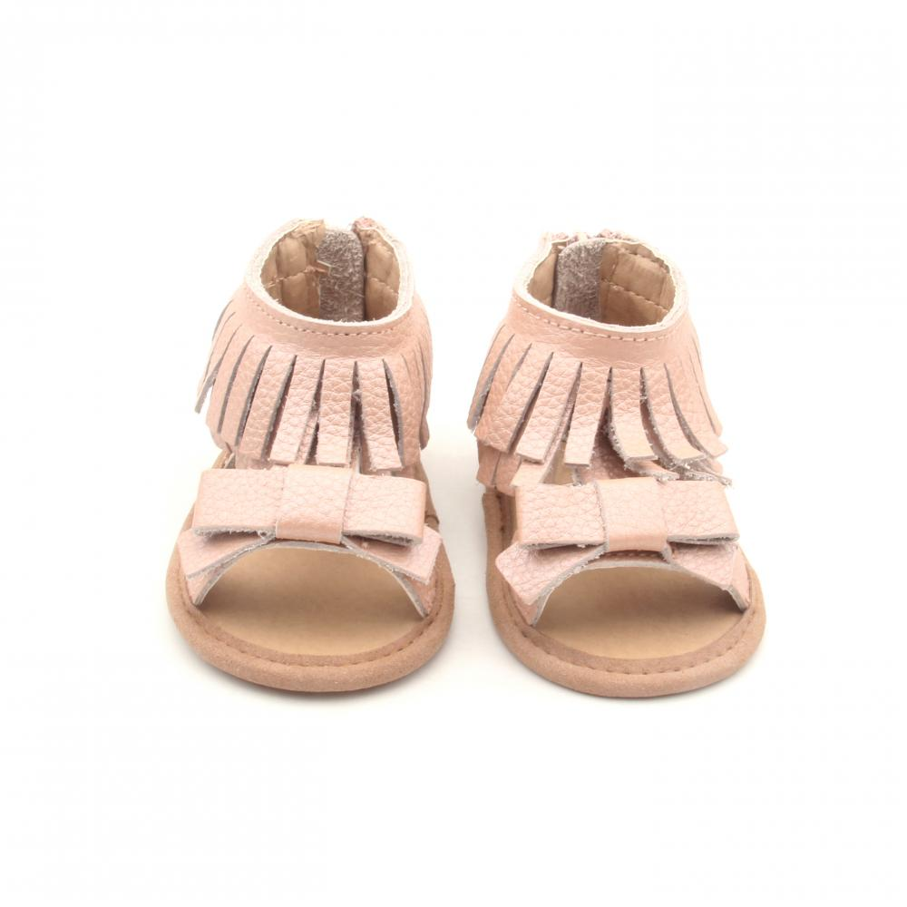 Most Popular Purified T-bar Leather Girls Sandals