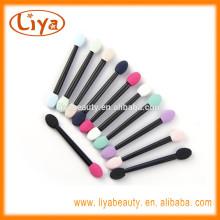 customized plastic handle non latex sponge applicator for eye makeup