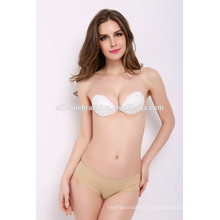 2016 beautiful fashionable lace bra newest sexy white clear back bra sexy lingeries transparent lace bra