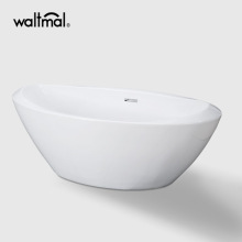 """Upc 70 """"X 36"""" Свободная ванна с рифленым саваном и центральным сливом"""
