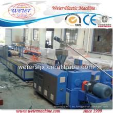 Planta de extrusión de paneles de techo de PVC Sjsz-51/105 de 250 mm