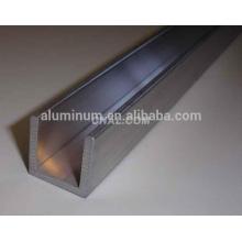 Tipos de canales de aluminio