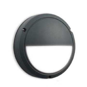 Half Circle - Lámpara de pared LED para exteriores, negro