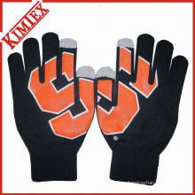 Популярные акриловые трикотажные перчатки для макияжа