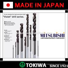 Hocheffiziente Bohrer mit langer Lebensdauer von Mitsubishi Materials & Kyocera. Made in Japan (Vollhartmetall-Fräser)