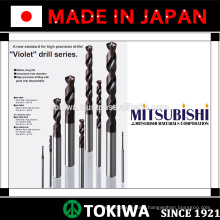 Highly efficient drill with long service life. Manufactured by Mitsubishi Materials & Kyocera. Made in Japan