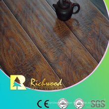 12.3mm Embossed Elm Waxed Edged V-Grooved Lamianted Floor
