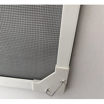 PVC frame mangetic bar closing fly screen