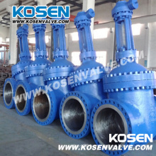 API 600 Gear Box Wedge Gate Valves