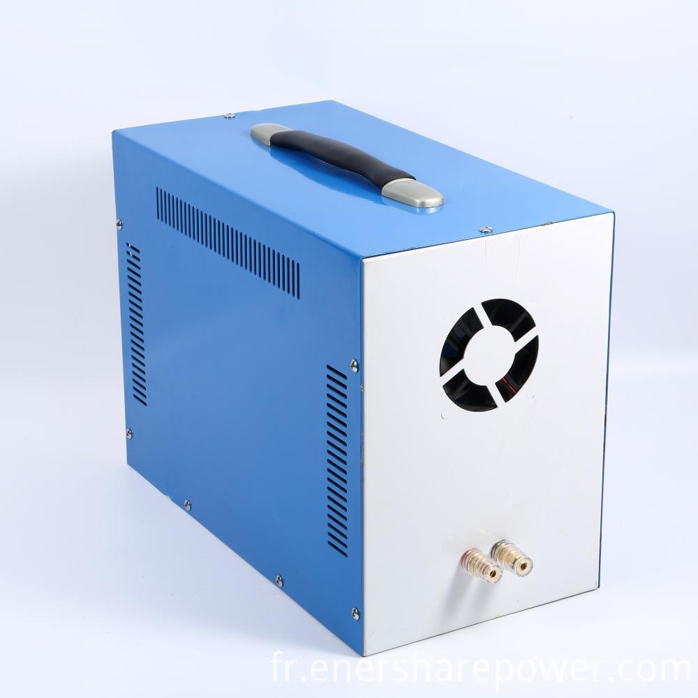 Portable Lithium Battery System Shed