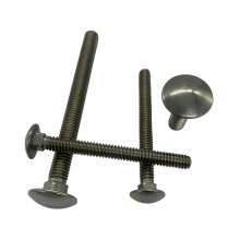 Square Neck Mushroom Head Set Screws Bolts Iron and Steel High Quality Grade 4.8 8.8 DIN Cheese for Mechanical Equipment 4.8/8.8