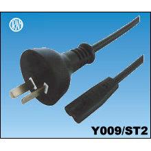 Argentina IRAM Power Cord with IEC C7 Plug