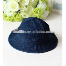 washed jeans New Korean style bucket hat