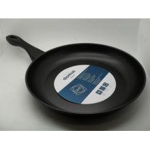 Amazon Vendor 30cm Acero al carbono Revestimiento antiadherente Fry Frying Pan